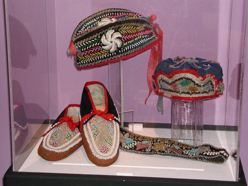 Yager Museum Beadwork Exhibit